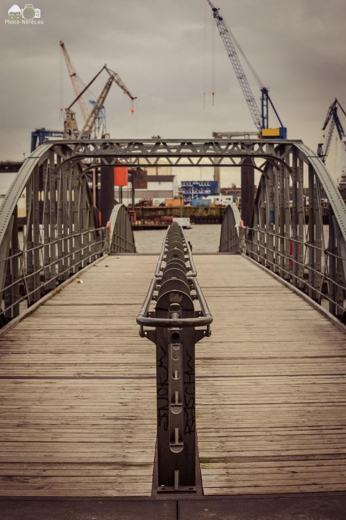 Hamburg -Landungsbrücken