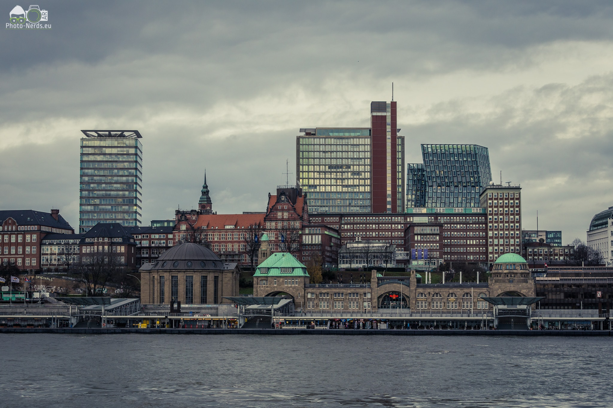 Hamburg -Skyline