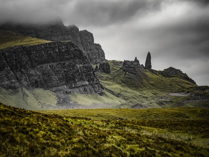 Wasserfall Old Man of Storr