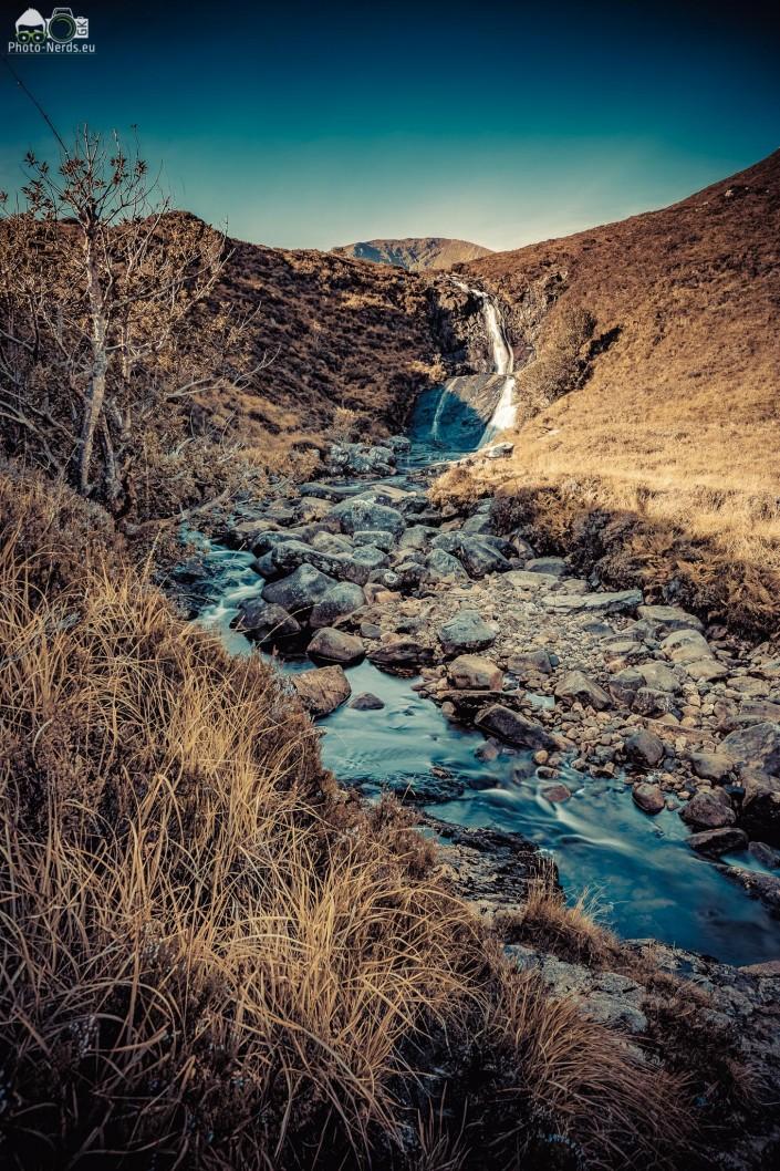 Falls near Eas a' Bhradain