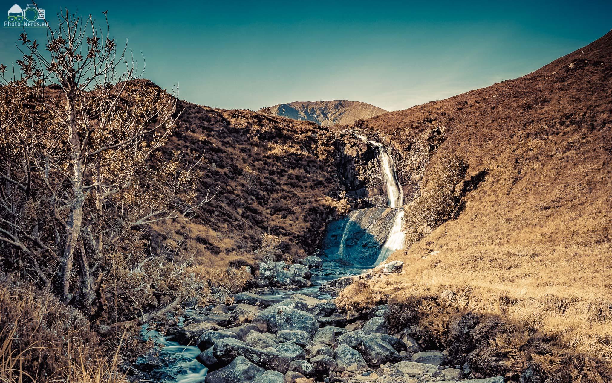 The Falls near Eas a' Bhradain