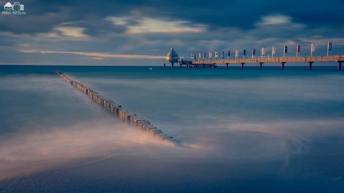 Zingst Seebrücke Tauchgondel